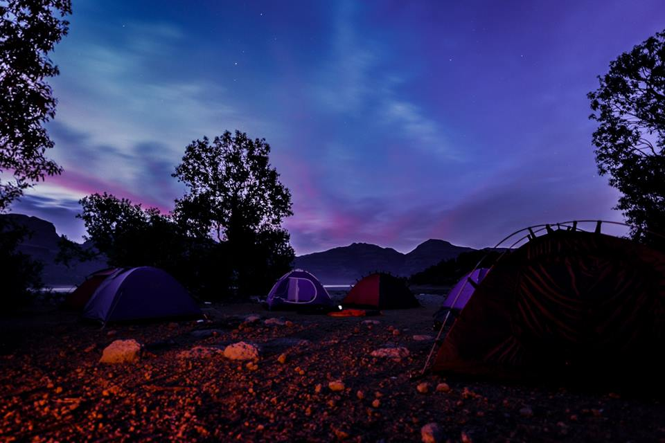 camping site at bhandardara pc anish padalkar