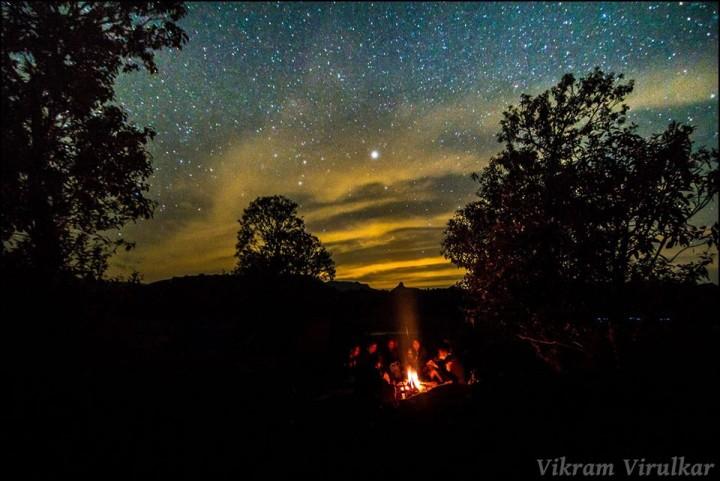 stargazing @ island camping