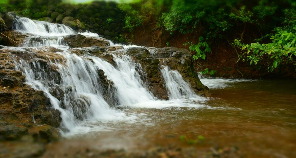 waterfall at bhandardara
